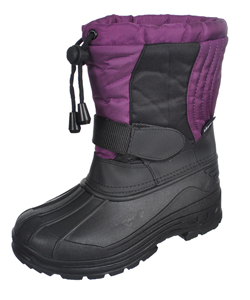"Skadoo Girls' ""Snow Goer"" Boots (Youth Sizes 3 – 6) - CookiesKids.com"