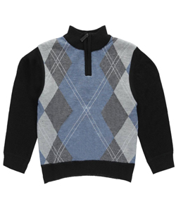 "American Legend Outfitters Little Boys' Toddler ""Homeroom"" Zip-Up Sweater (Sizes 2T – 4T) - CookiesKids.com"