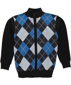 "American Legend Outfitters Big Boys' ""Argyle Access"" Zip-Up Sweater (Sizes 8 – 20) - CookiesKids.com"