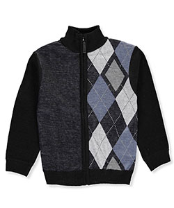 American Legend Outfitters Little Boys' Toddler Zip Collar Sweater (Sizes 2T – 4T) - CookiesKids.com