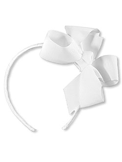 School Uniform Large Bow Headband - CookiesKids.com