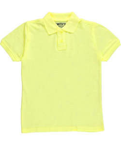 Smith's American Big Boys' S/S Pique Polo (Sizes 7 – 20) - CookiesKids.com