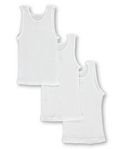 Hanes Little Boys' Toddler 3-Pack Tagless Tanks (Sizes 2T – 4T) - CookiesKids.com
