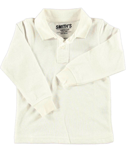Smith's American Little Boys' L/S Pique Polo - CookiesKids.com