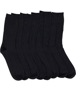 "French Toast Boys ""Class Act"" 4-Pack School Socks (Sizes 5 – 8.5) - CookiesKids.com"