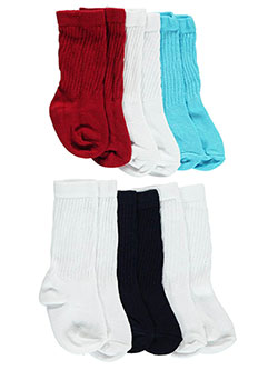 "Nursery Rhymes Baby Boys' ""Color Classic"" 6-Pack Socks - CookiesKids.com"