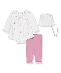 Harry & Violet Baby Girls' 3-Piece Outfit - CookiesKids.com