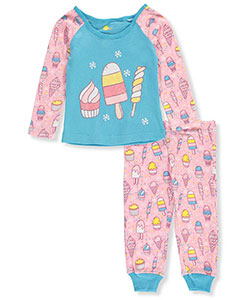 Sol Sleep Baby Girls' 2-Piece Pajamas - CookiesKids.com