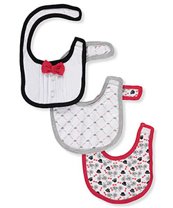 Harry & Violet 3-Pack Baby Bibs - CookiesKids.com
