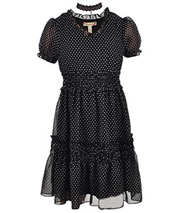 Speechless Big Girls' Dress with Necklace (Sizes 7 – 16) - CookiesKids.com