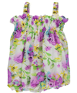 "S. Square Baby Girls' ""May Flowers"" Dress - CookiesKids.com"