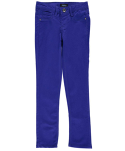 "Squeeze Big Girls' ""Ridged Hardware"" Skinny Pants (Sizes 7 – 16) - CookiesKids.com"