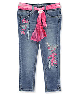 Squeeze Little Girls' Skinny Jeans (Sizes 4 – 6X) - CookiesKids.com