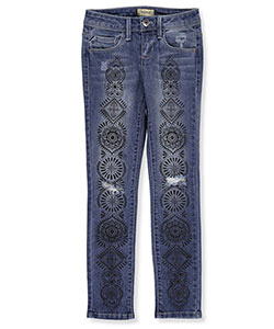 Squeeze Big Girls' Skinny Jeans (Sizes 7 – 16) - CookiesKids.com