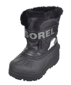 Sorel Unisex Snow Commander Boots (Toddler Sizes 8 – 12) - CookiesKids.com