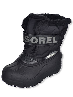 Sorel Unisex Snow Commander Boots (Youth Sizes 1 – 7) - CookiesKids.com