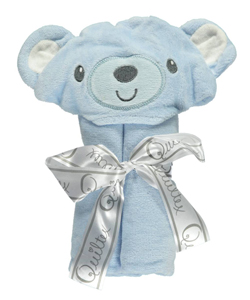 Quiltex Hooded Towel – Teddy - CookiesKids.com
