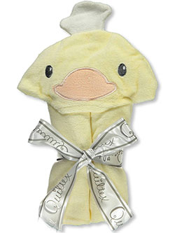 Quiltex Hooded Towel – Ducky - CookiesKids.com