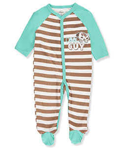 Quiltex Baby Boys' Footed Coverall - CookiesKids.com