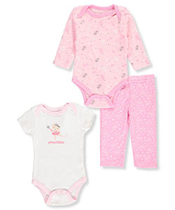 Quiltex Baby Girls' 3-Piece Set - CookiesKids.com