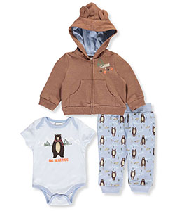 Quiltex Baby Boys' 3-Piece Outfit - CookiesKids.com