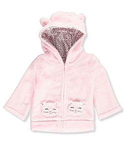 Quiltex Baby Girls' Plush Jacket - CookiesKids.com