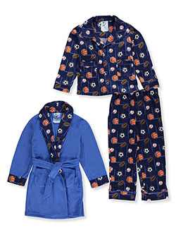 Bunz Kidz Little Boys' 3-Piece Sleep Set (Sizes 4 – 7) - CookiesKids.com