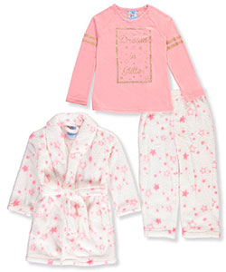Bunz Kidz Little Girls' 3-Piece Sleep Set (Sizes 4 – 6X) - CookiesKids.com