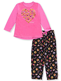 Emoji Big Girls' 2-Piece Pajamas (Sizes 7 – 16) - CookiesKids.com