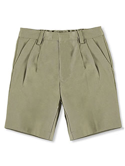 Universal Little Boys' Basic Pleated Shorts (Sizes 4 - 7) - CookiesKids.com