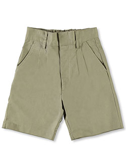 Universal Basic Unisex Pleated Shorts (Sizes 8 - 20) - CookiesKids.com