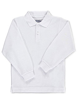 Universal L/S Unisex Pique Polo (Adult Sizes S – XL) - CookiesKids.com