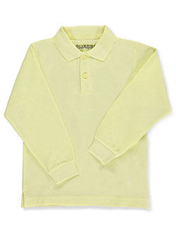Universal Toddler Unisex L/S Pique Polo (Sizes 2T - 4T) - CookiesKids.com