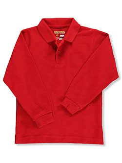 Universal Toddler Unisex L/S Pique Polo (Sizes 4 - 7) - CookiesKids.com