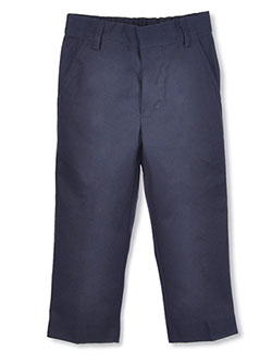 Universal Little Boys' Flat Front Pants (Sizes 4 - 7) - CookiesKids.com