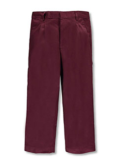 Universal Big Boys' Husky  Pleated Front Pants (Husky Sizes) - CookiesKids.com