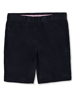 Universal Big Girls' Flat Front Shorts (Sizes 7 – 20) - CookiesKids.com
