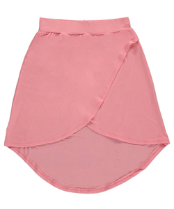 "One Step Up Big Girls' ""Classic Wrap"" Skirt (Sizes 7 – 16) - CookiesKids.com"