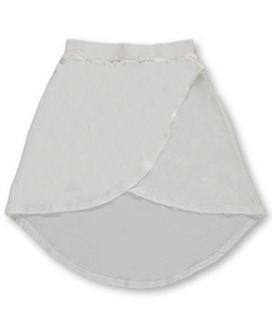 "One Step Up Big Girls' ""Classic Wrap"" Hi-Low Skirt (Sizes 7 – 16) - CookiesKids.com"