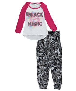 "Miss Majesty Big Girls' ""Black Girl Magic"" 2-Piece Outfit (Sizes 7 – 16) - CookiesKids.com"