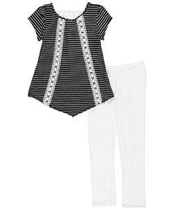 "Insta Girl Big Girls' ""Double Laced"" 2-Piece Outfit (Sizes 7 – 16) - CookiesKids.com"