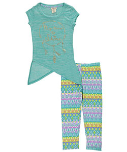 "One Step Up Big Girls' ""My Time to Shine"" 2-Piece Outfit (Sizes 7 – 16) - CookiesKids.com"