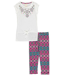 "One Step Up Big Girls' ""Palisades"" 2-Piece Outfit (Sizes 7 – 16) - CookiesKids.com"