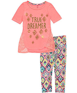 "One Step Up Big Girls' ""True Dreamer"" 2-Piece Outfit (Sizes 7 – 16) - CookiesKids.com"
