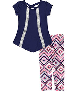 "One Step Up Big Girls'  ""Crossroads"" 2-Piece Outfit (Sizes 7 – 16) - CookiesKids.com"