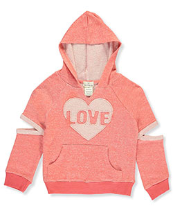 One Step Up Little Girls' Cutout Hoodie (Sizes 4 – 6X) - CookiesKids.com