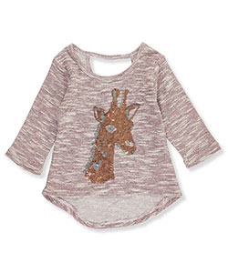 One Step Up Little Girls' Toddler Knit Top (Sizes 2T – 4T) - CookiesKids.com