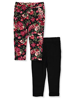 One Step Up Baby Girls' 2-Pack Jeggings - CookiesKids.com
