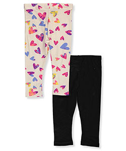 One Step Up Baby Girls' 2-Pack Fleece Leggings - CookiesKids.com
