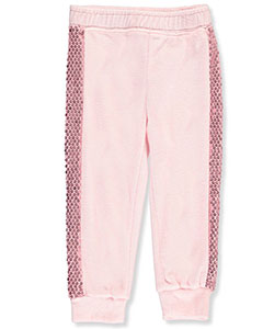 One Step Up Little Girls' Toddler Velour Joggers (Sizes 2T – 4T) - CookiesKids.com
